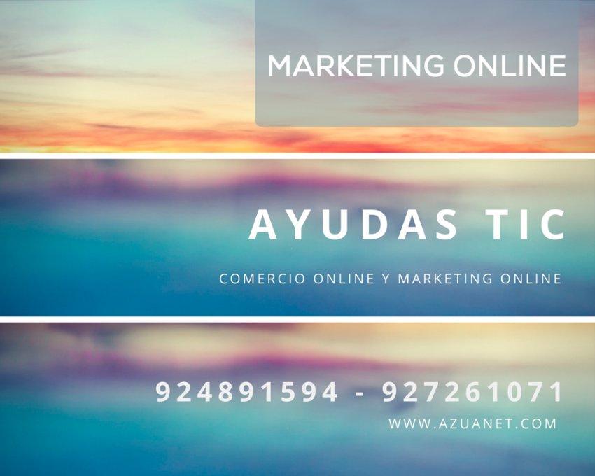 Subvenciones y Ayudas para campaña de Marketing Online Extremadura
