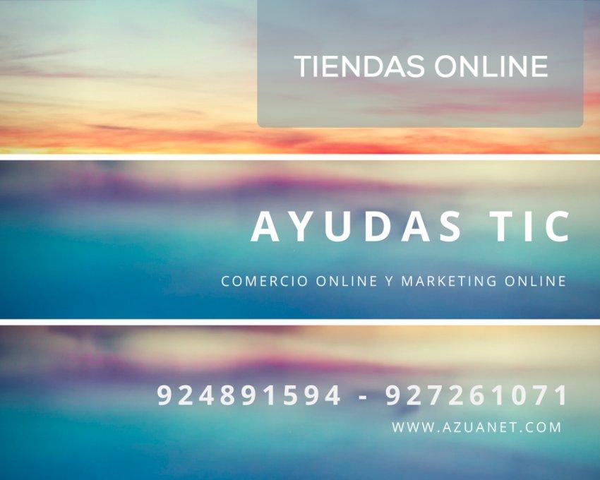 Subvenciones y Ayudas para creación de Tiendas online Extremadura